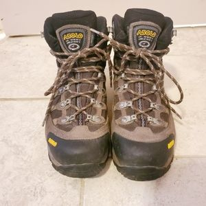 Asolo brown hiking boots